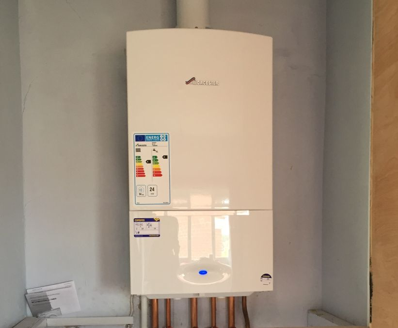 worcester boiler installed by our gas engineer in stevenage